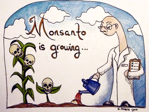 monsanto is growing