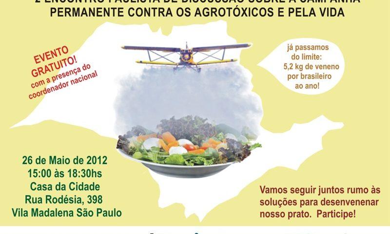feb17f323 Encontro Paulista da Campanha Permanente Contra os Agrotóxicos e Pela Vida