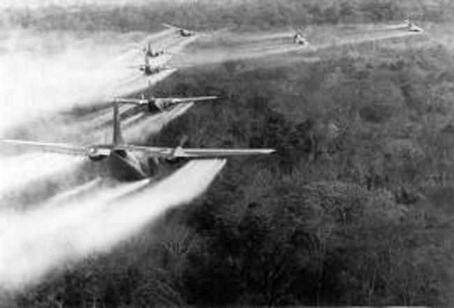 C-123 Spraying Agent Orange in Vietnam